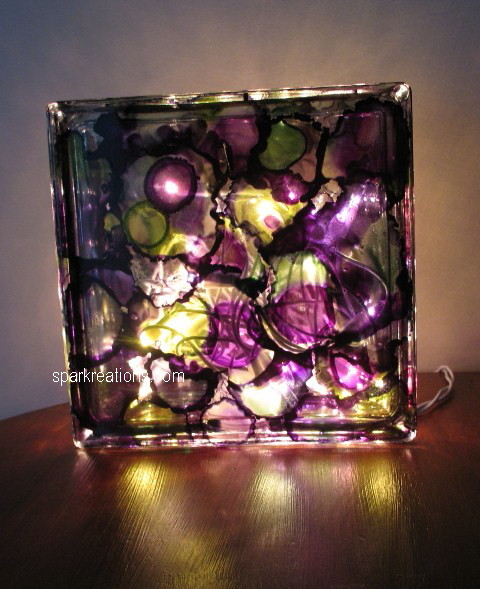 light box (on display)...passion purple, lime green, rainforest green...3