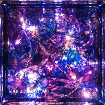 light box...passion purple, sapphire blue, baja blue, senorita magenta...1
