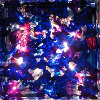 light box...passion purple, sapphire blue, baja blue, senorita magenta...3